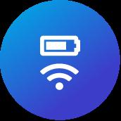icoon voor wi-fi & oplaadpunten